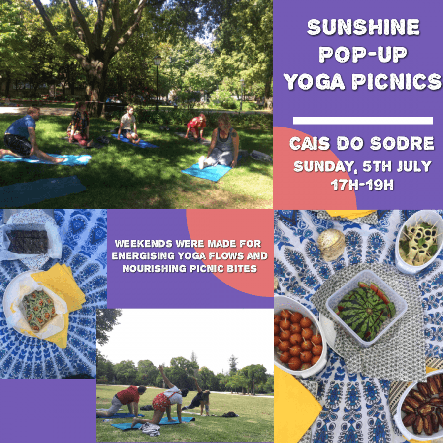 Sunshine Pop-Up Yoga Picnic