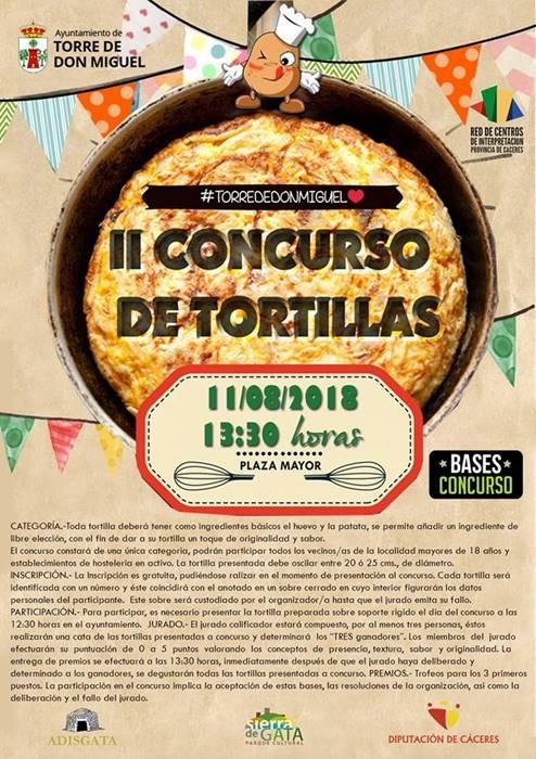 II Concurso de Tortillas || Torre de Don Miguel