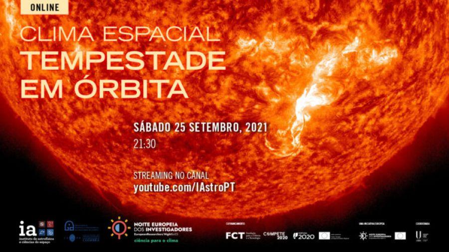 O Universo Online: Clima espacial - Tempestade em órbita