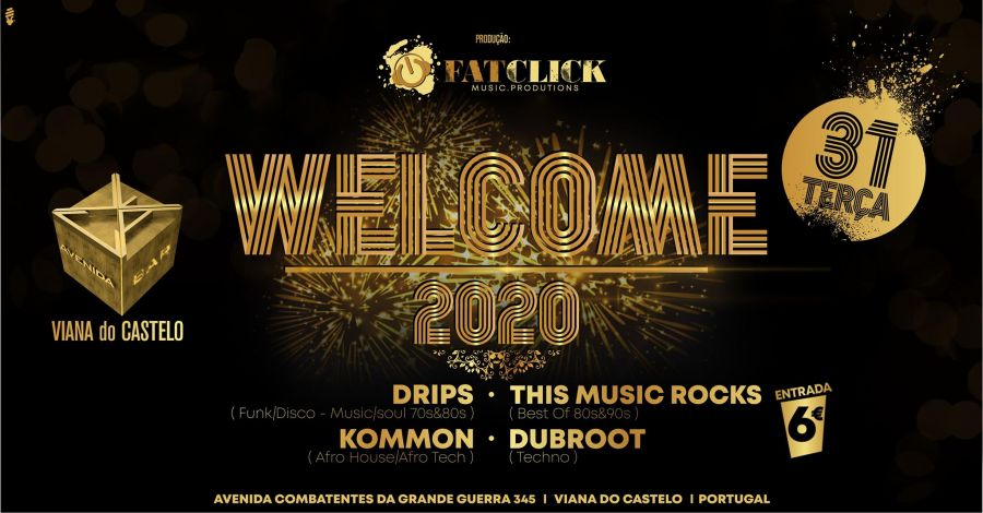 Welcome 2020 // Cave Avenida By Fatclick Prod //