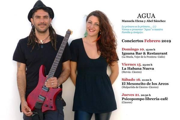 Concierto: AGUA || Malpartida de Cáceres