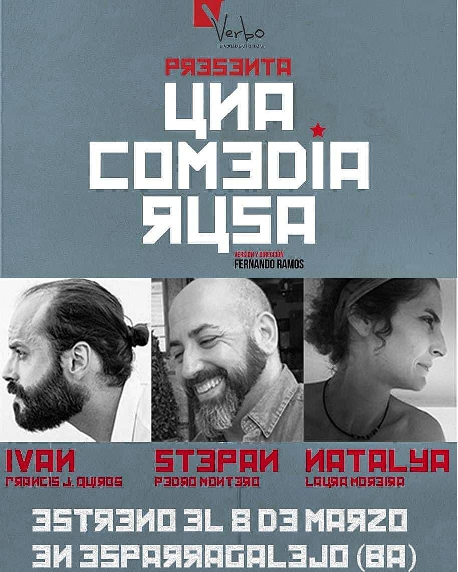 Una comedia rusa    teatro