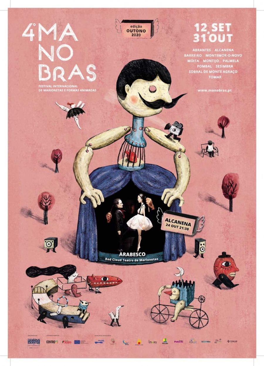 Arabesco – Red Cloud Teatro de Marionetas | 4º Festival Internacional de Marionetas e Formas Animadas