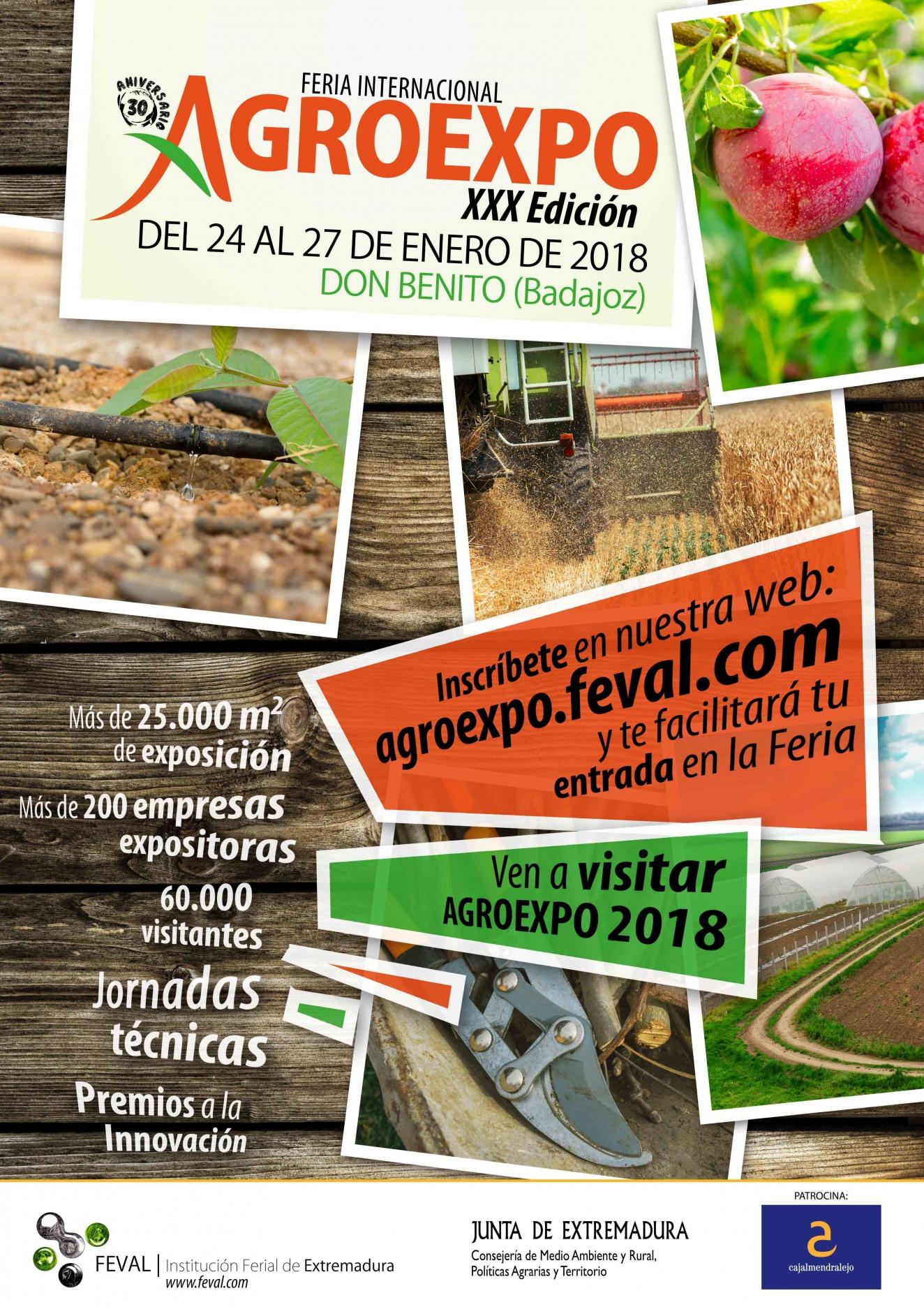 XXX Feria Internacional Agroexpo
