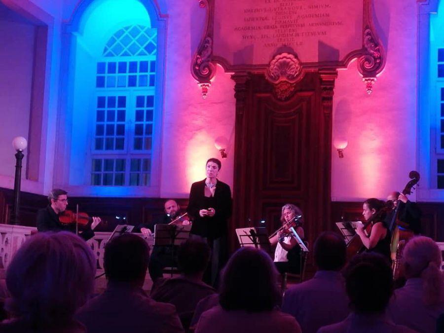 Viagem por Sonoridades Barrocas: 4 Géneros, 4 Línguas - Quarteto Opus 28, Trio Ventos d'Arco, Soprano Maria João Sousa