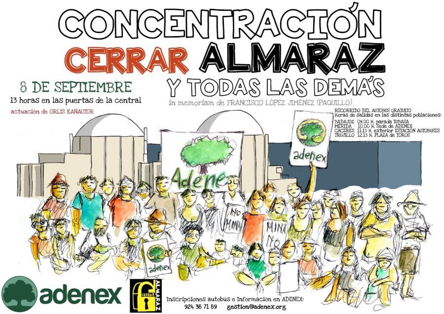 Concentración Cerrar Almaraz