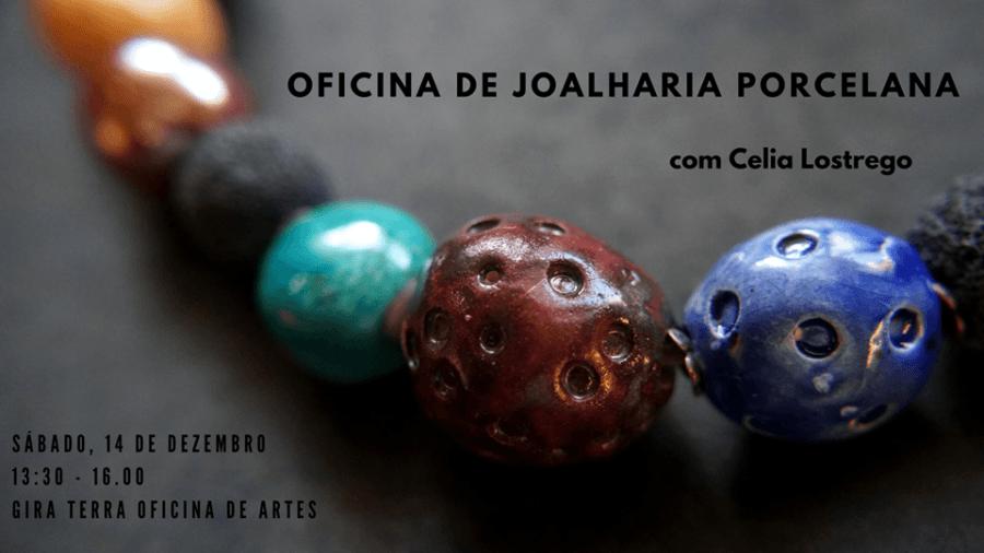 Workshop joalharia porcelana/Porcelain jewellery workshop