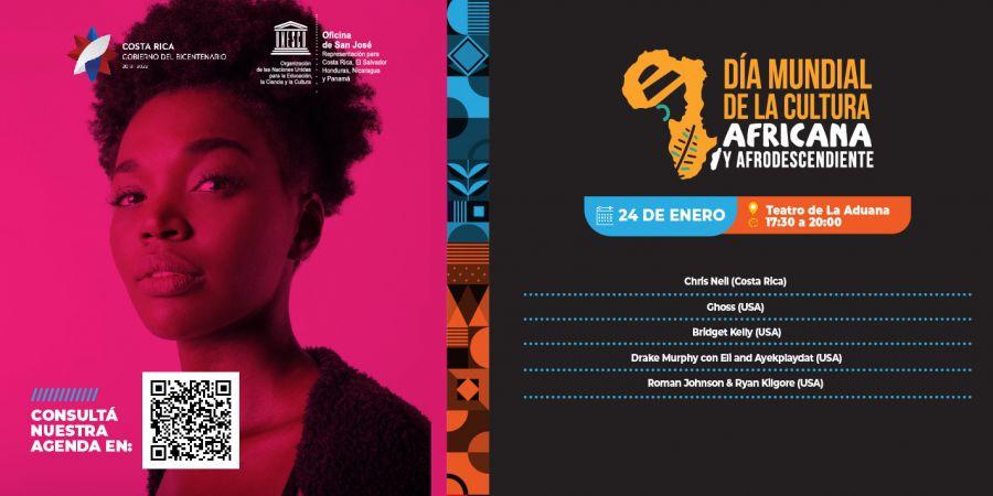 Día mundial de la cultural africana y de los afrodescendientes. Conciertos