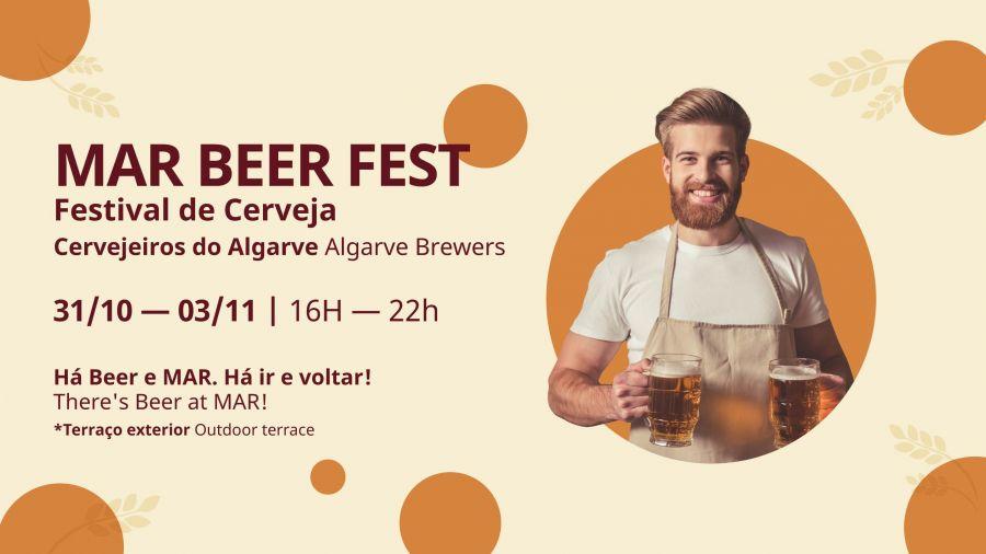 Apreciadores de cerveja, vem aí o MAR Beer Fest
