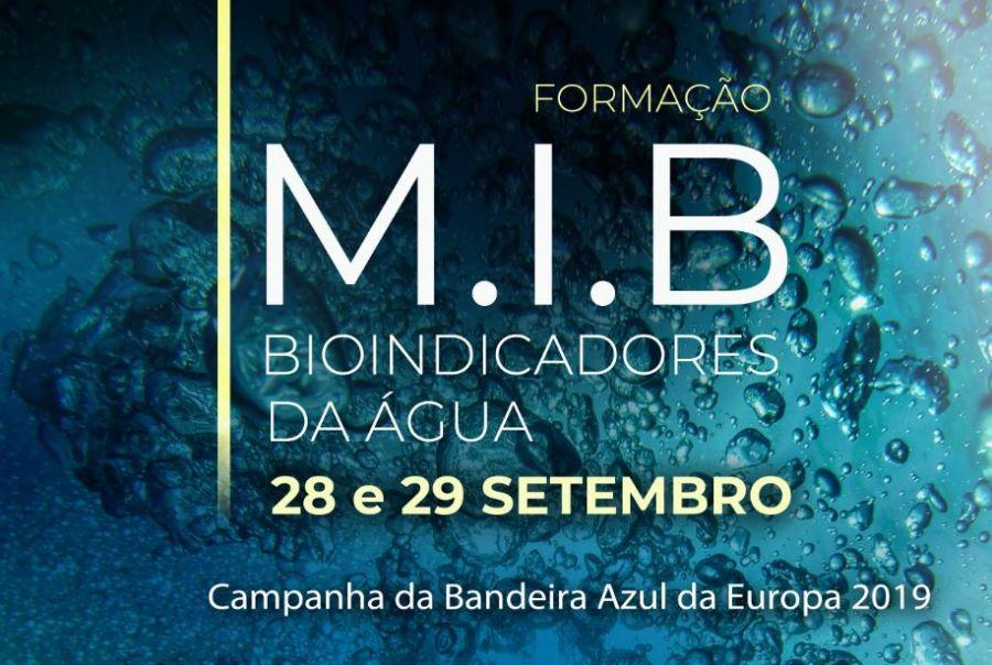 """Formação """"M.I.B. - Bioindicadores da Água"""""""