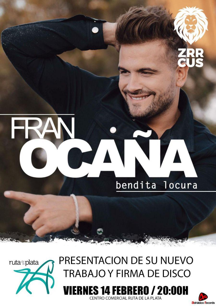 Firma de discos Fran Ocaña