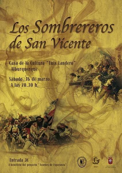 Concierto: Los Sombrereros de San Vicente // Casa de la Cultura Luis Landero