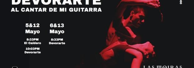 Devorarte al cantar de mi Guitarra