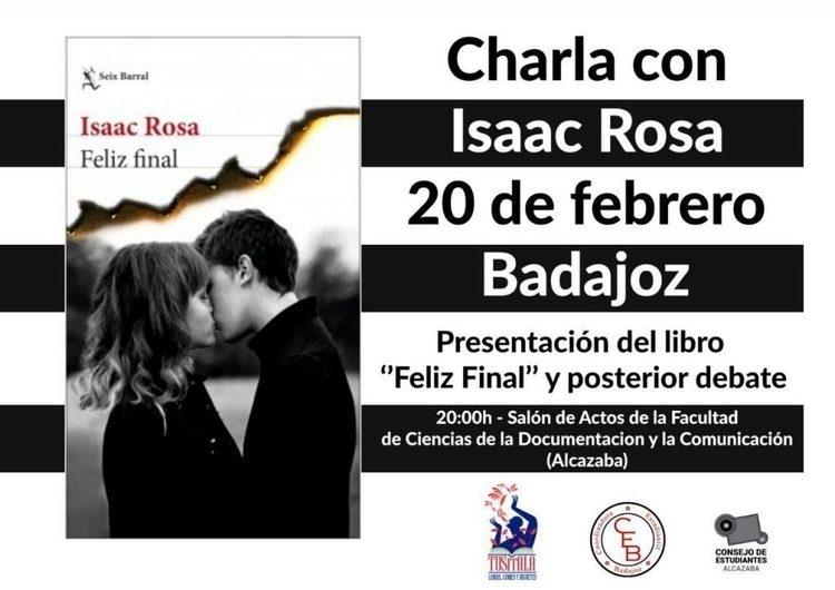 Presentación: 'Feliz final', de Isaac Rosa