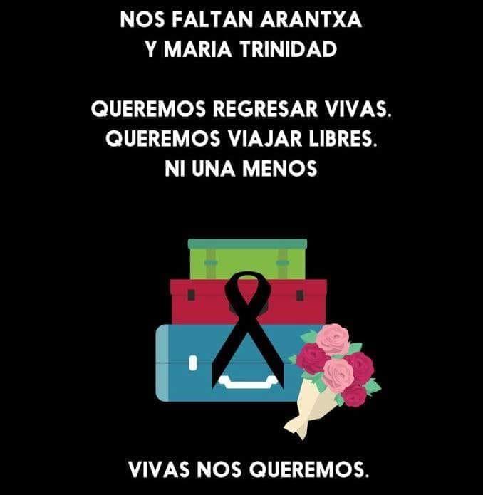 En Solidaridad Con Maria Y Arantxa