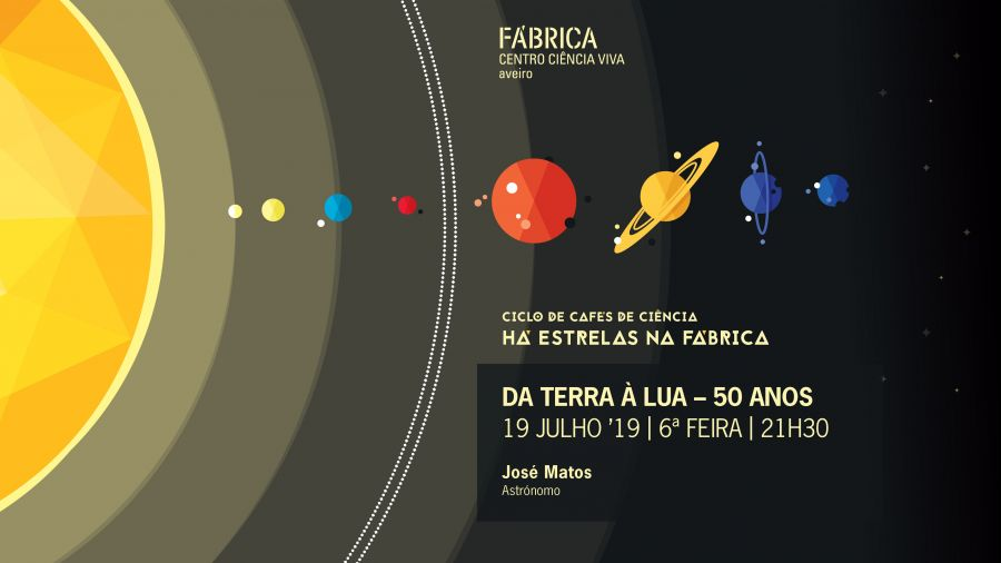 Café de Ciência 'Da Terra à Lua - 50 anos'