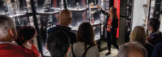 Visita Guiada ao Museu Benfica - Cosme Damião