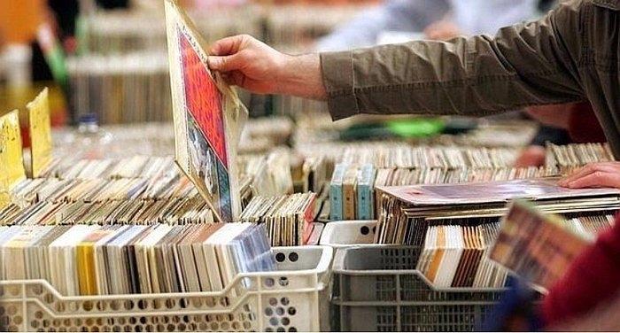 Feria de discos en Badajoz
