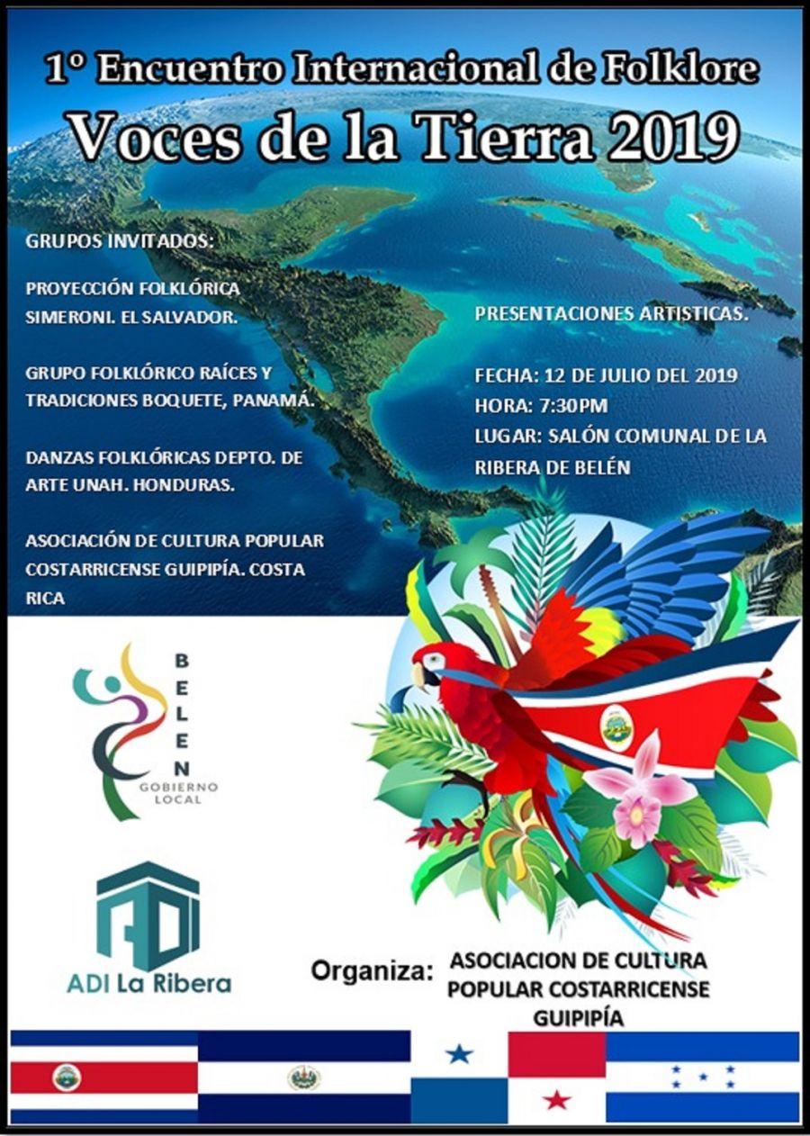 1er encuentro internacional de folcklore. Voces de la Tierra 2019