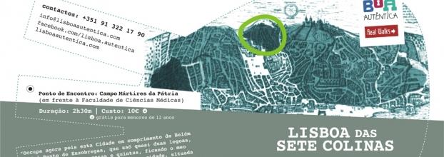 Lisboa das Sete Colinas -Colina de Sant'Ana