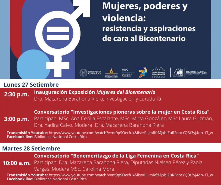 Mujeres, Poderes y Violencia: resistencia y aspiraciones de cara al Bicentenario