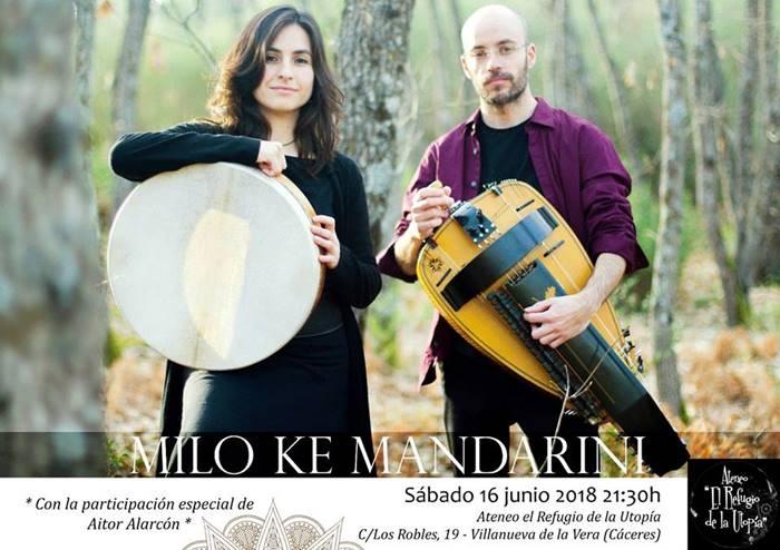 Concierto de MILO KE MANDARINI || Ateneo el Refugio de la Utopía