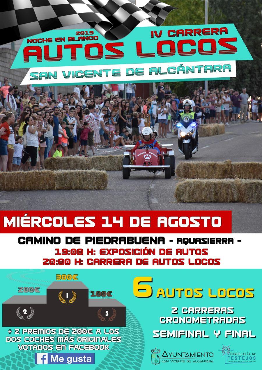 IV CARRERA DE AUTOS LOCOS