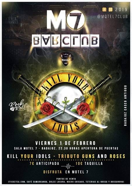 Kill Your Idols || Tributo a Guns And Roses
