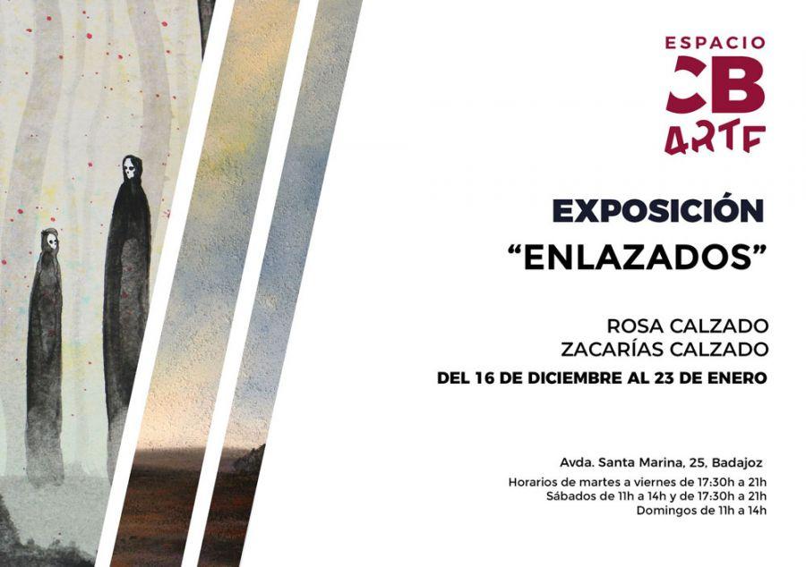 ENLAZADOS | Exposición de Rosa y Zacarías Calzado en el Espacio CB Arte