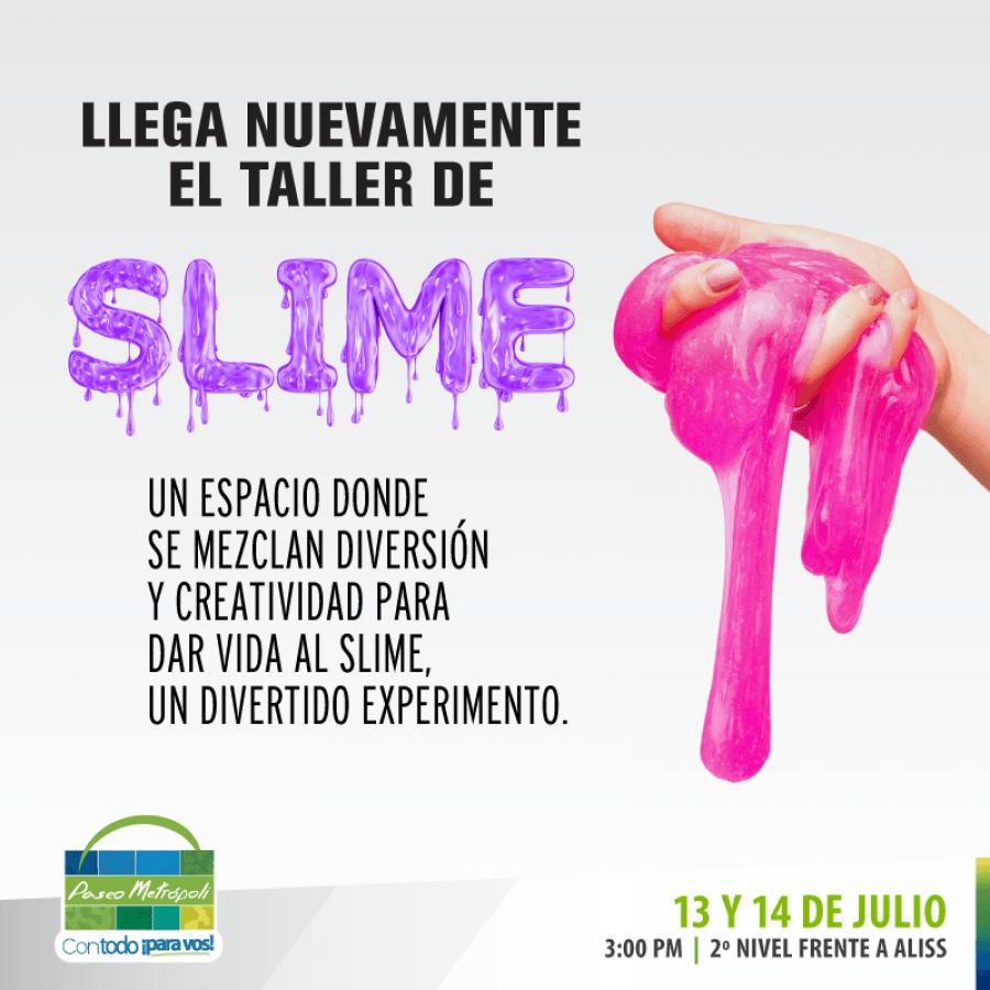 Aprender. Fabrica tu propio slime