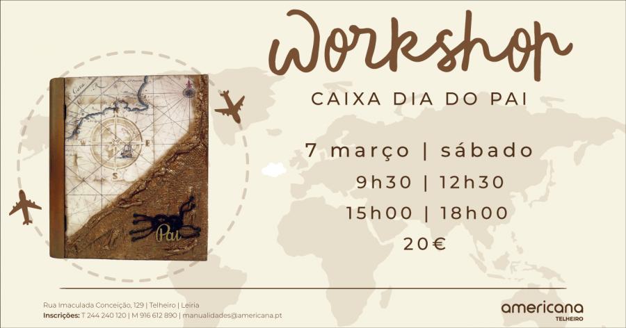Workshop Dia do Pai