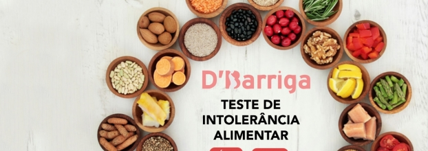Teste de intolerâncias alimentares