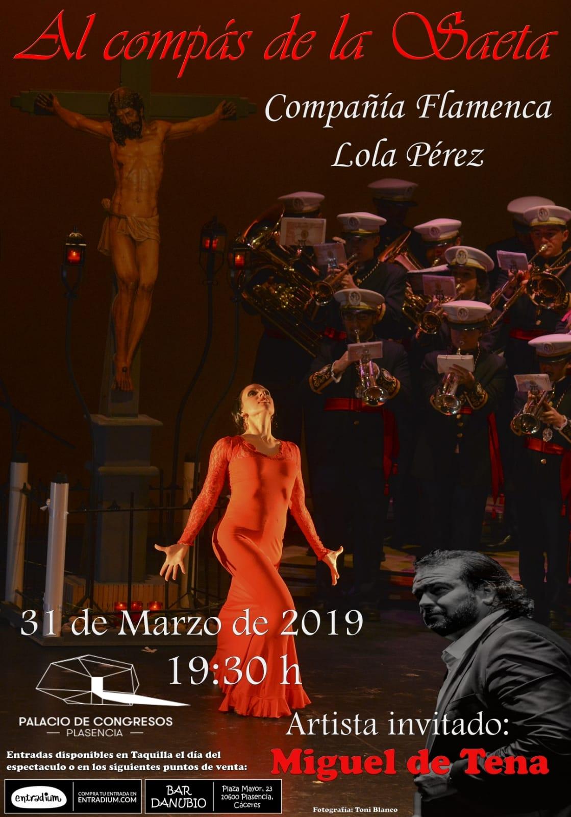 """Lola Pérez """"Al compás de la saeta"""""""