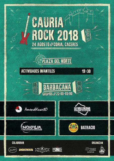 II Festival Cauria Rock    CORIA