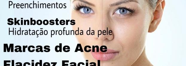 Consultas Rejuvenescimento facial e Hiperidrose gratuitas