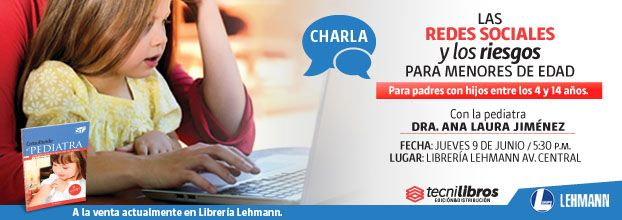 Charla: Las redes sociales y los riesgos para menores de edad