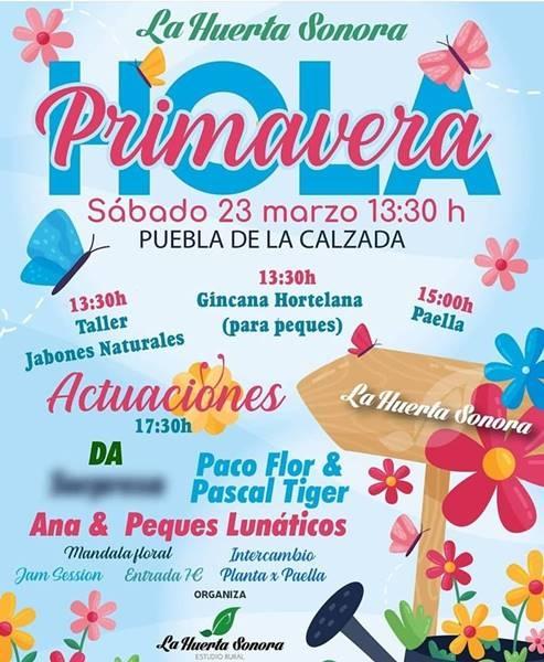 HOLA PRIMAVERA // La Huerta Sonora