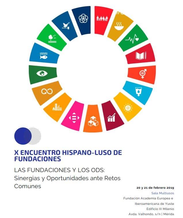 X Encuentro Hispano-Luso de Fundaciones | MÉRIDA