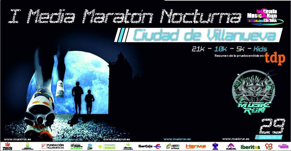 I Media Maratón Nocturna 'Ciudad de Villanueva'