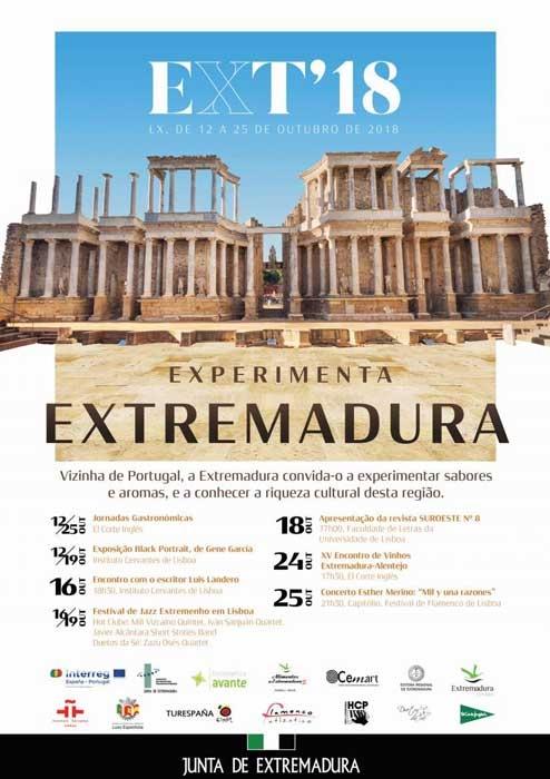 EXPERIMENTA EXTREMADURA 2018 | Lisboa