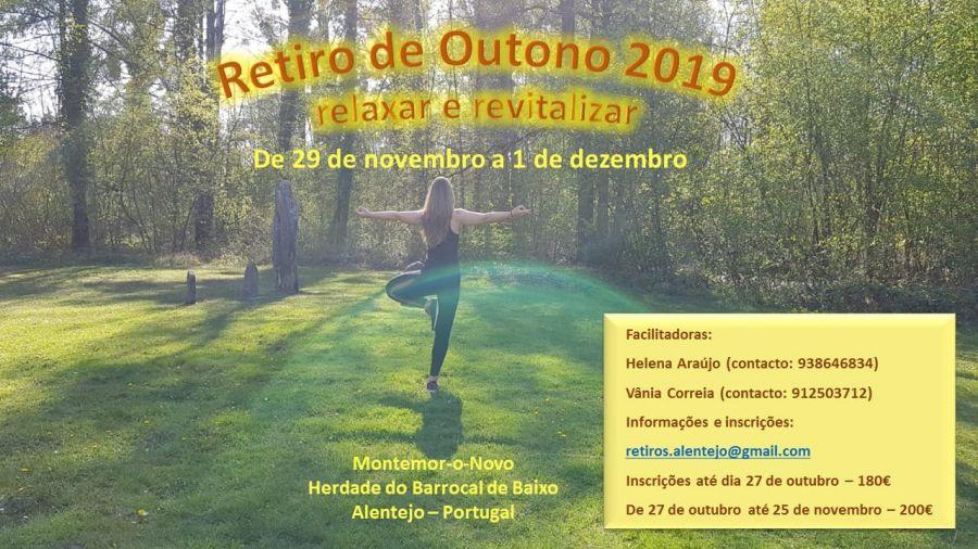 Retiro de Outono 2019 - Relaxar e Revitalizar