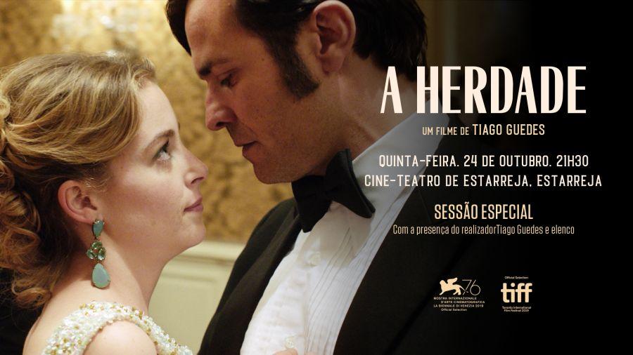 A HERDADE 5ª feira 24 de Outubro - 21:30 Sessão especial - com a presença do realizador Tiago Guedes e do elenco.