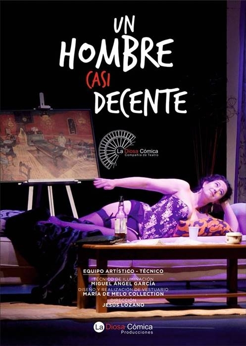 Teatro Ciclo D'Rule   'Un hombre casi decente'
