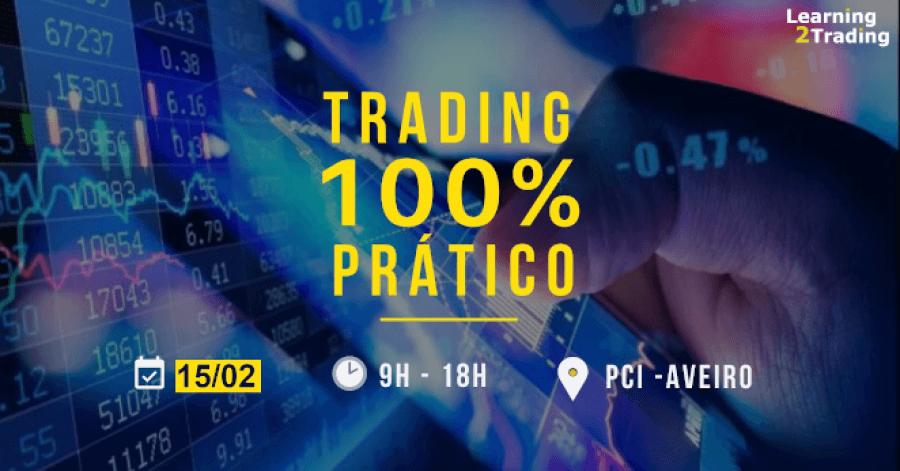 Curso de Trading 100% Prático (presencial + conferência web + suporte online)