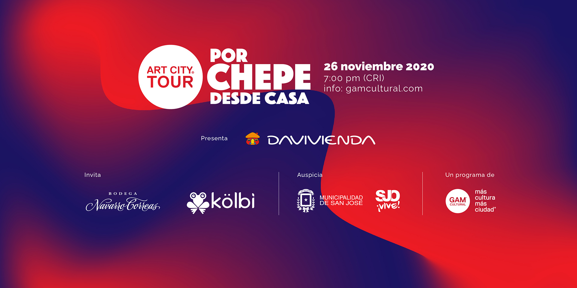 Art City Tour VIRTUAL: 26 Noviembre 2020