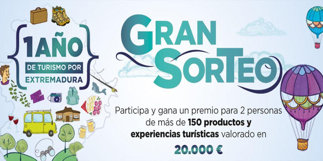 Gran Sorteo 1 Año de Turismo por Extremadura