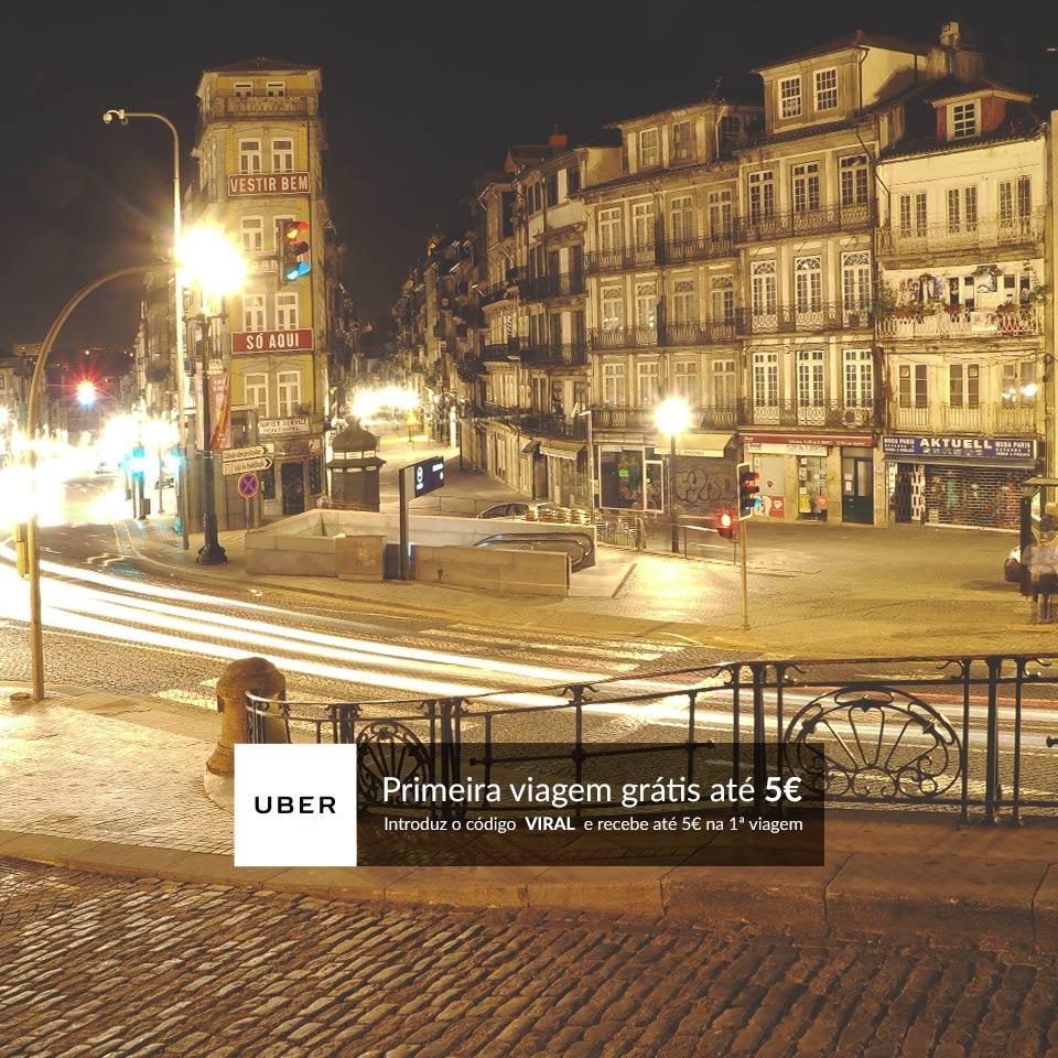 Oferta UBER Porto