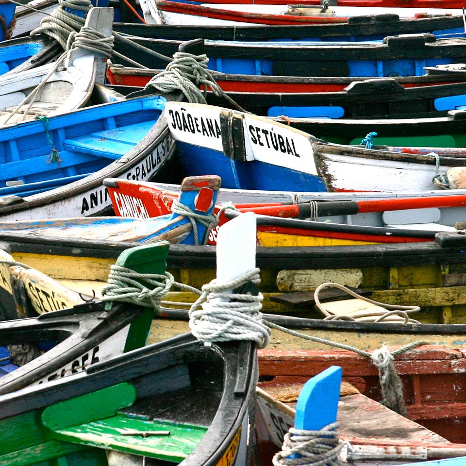 Setúbal fisherman's boats