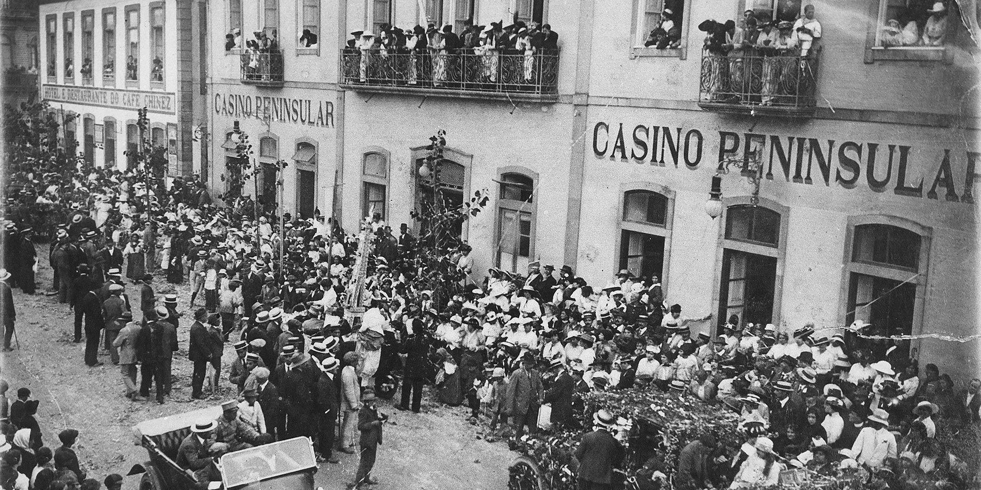 Casino Peninsular e o Café do Chinez